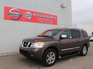 Used 2014 Nissan Armada Platinum Edition for sale in Edmonton, AB