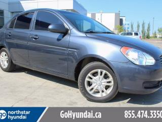 Used 2009 Hyundai Accent GL Alloys Air Power Windows and Locks for sale in Edmonton, AB