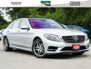 Used 2014 Mercedes-Benz S-Class 550 4MATIC Like New for sale in North York, ON