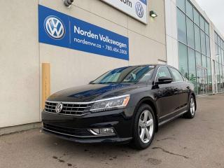 Used 2017 Volkswagen Passat 1.8 TSI COMFORTLINE W/ NAV PKG - LEATHER / HEATED SEATS for sale in Edmonton, AB