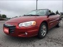 Used 2004 Chrysler Sebring Limited - Absolutely Mint - Heated Leather for sale in Norwood, ON