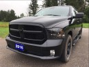 Used 2016 Dodge Ram 1500 ST - Black Express - Backup Cam for sale in Norwood, ON