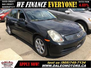 Used 2004 Infiniti G35 Luxury for sale in Hamilton, ON
