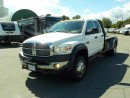 Used 2008 Dodge Ram 5500 Quad Cab 4WD Laramie Flat Deck for sale in Burnaby, BC