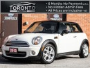 Used 2013 MINI Cooper ***SOLD***Leather+Panoramic roof+Sport package for sale in North York, ON