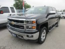 Used 2014 Chevrolet Silverado 1500 LOADED LTZ MODEL 5 PASSENGER 5.3L - V8.. 4X4.. CREW.. SHORTY.. LEATHER.. SUNROOF.. NAVIGATION.. BACK-UP CAMERA.. HEATED/AC SEATS.. for sale in Bradford, ON