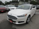 Used 2013 Ford Fusion 'GREAT VALUE' FUEL EFFICIENT SE EDITION 5 PASSENGER 1.6L - ECO-BOOST.. SYNC TECHNOLOGY.. BLUETOOTH.. for sale in Bradford, ON