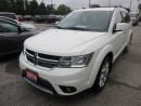 Used 2014 Dodge Journey LOADED R/T MODEL 7 PASSENGER 3.6L - V6.. AWD.. BENCH & 3RD ROW.. LEATHER.. HEATED SEATS.. TOUCH SCREEN.. ALPINE AUDIO.. for sale in Bradford, ON