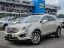 Used 2017 Cadillac XT5 LUXURY PLH, SUNROOF, LOADED *LOW MILEAGE* for sale in Ottawa, ON