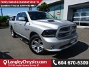 Used 2015 Dodge Ram 1500 Sport w/Navigation & Parkview backup camera for sale in Surrey, BC