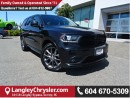 Used 2016 Dodge Durango SXT AWD/ LEATHER/SUEDE INTERIOR & 3RD ROW SEATS for sale in Surrey, BC