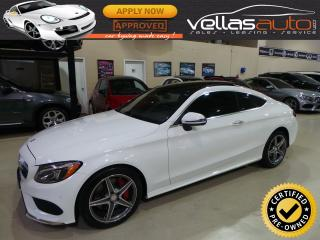 Used 2017 Mercedes-Benz C-Class C300  COUPE  4MATIC  AMG SPORT for sale in Woodbridge, ON