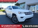 Used 2017 Jeep Grand Cherokee Overland W/AIR RIDE SUSPENSION & NAVIGATION for sale in Surrey, BC