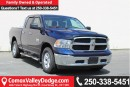 Used 2017 Dodge Ram 1500 SLT LOW KM, KEYLESS ENTRY, BACK UP CAMERA, BLUETOOTH for sale in Courtenay, BC