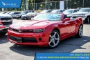 Used 2014 Chevrolet Camaro LT Satellite Radio and Backup Camera for sale in Port Coquitlam, BC