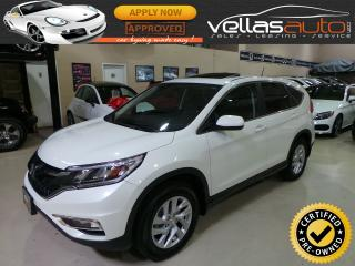 Used 2015 Honda CR-V EX-L  4WD  LEATHER  SUNROOF for sale in Woodbridge, ON
