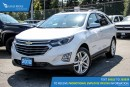 New 2018 Chevrolet Equinox Premier Navigation, Sunroof, and Heated Seats for sale in Port Coquitlam, BC
