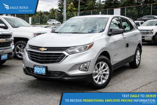 New 2018 Chevrolet Equinox LS Backup Camera and Air Conditioning for sale in Port Coquitlam, BC