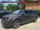 Used 2014 Dodge Journey Crossroad**LEATHER**8.4-INCH SCREEN** for sale in Mississauga, ON