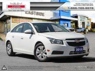 Used 2014 Chevrolet Cruze BLUETOOTH!! REAR VIEW CAMERA!! 7 TOUCH SCREEN for sale in Markham, ON