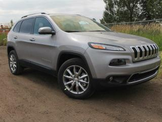 Used 2017 Jeep Cherokee Limited 4x4 GPS Navigation / Rear Back Up Camera for sale in Edmonton, AB