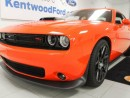 Used 2016 Dodge Challenger R/T Scat Pack- NAV, sunroof, heated/cooled drivers seat and a heated steering wheel, but most important.. MANUAL! for sale in Edmonton, AB