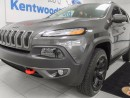 Used 2016 Jeep Cherokee Trailhawk- trail rated- 3.2L V6 4x4- back up cam- ability to choose your terrain! for sale in Edmonton, AB