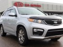 Used 2013 Kia Sorento HEATED SEATS, HEATED WHEEL, DVD SCREEN, BACKUP CAM, AUX/USB for sale in Edmonton, AB