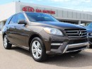 Used 2013 Mercedes-Benz ML-Class DIESEL, DUAL SUNROOF, NAVI, HEATED WHEEL, HEATED FRONT/REAR SEATS, BUTTON START, SIRIUS for sale in Edmonton, AB