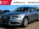 Used 2011 Audi A4 LEATHER, SUNROOF, GREAT SHAPE! for sale in Edmonton, AB