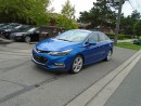 Used 2016 Chevrolet Cruze LEATHER, SUNROOF, NAVIGATION for sale in Scarborough, ON