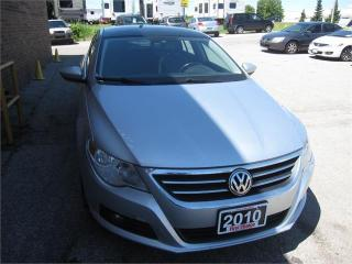 Used 2010 Volkswagen Passat CC Sportline for sale in Kitchener, ON