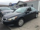 Used 2008 Honda Accord Sdn LX for sale in Kitchener, ON