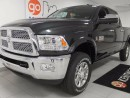 Used 2017 Dodge Ram 3500 Laramie 6.7L Turbo Diesel, heated leather seats, cooled front seats, heated steering wheel, sunroof! for sale in Edmonton, AB