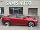 Used 2011 Chevrolet Cruze LTZ Turbo w/1SA for sale in Hamilton, ON