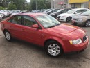 Used 2003 Audi A4 1.8T/ AUTO/ LEATHER/ 4CYL/ CLEAN for sale in Scarborough, ON