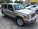 Used 2006 Jeep Commander Limited/4WD/7PASS/NAVI/DVD/LEATHER/ROOF/ALLOYS for sale in Pickering, ON