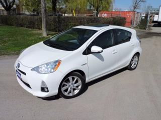 Used 2013 Toyota Prius c LEATHER | NAVI | ROOF for sale in Brampton, ON