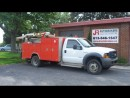 Used 2005 Ford F-550 4X4 Service Truck with Crane for sale in Elginburg, ON
