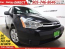Used 2009 Ford Focus SE| HEATED SEATS| ONE PRICE INTEGRITY| for sale in Burlington, ON