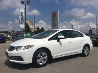 Used 2014 Honda Civic Sedan LX ~Low Km ~Heated Seats ~Fuel Efficient for sale in Barrie, ON