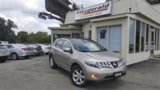 Used 2009 Nissan Murano SL - BACK-UP CAM! PANO SUNROOF! for sale in Kitchener, ON