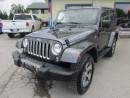 Used 2016 Jeep Wrangler LOADED TWO-DOOR - SAHARA EDITION 5 PASSENGER 3.6L - V6.. 4X4.. LEATHER.. HEATED SEATS.. NAVIGATION.. U-CONNECT SYSTEM.. for sale in Bradford, ON