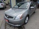 Used 2012 Nissan Sentra LOADED SL MODEL 5 PASSENGER 2.0L - DOHC.. LEATHER.. HEATED SEATS.. NAVIGATION.. BACK-UP CAMERA.. POWER SUNROOF.. for sale in Bradford, ON