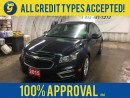 Used 2015 Chevrolet Cruze LT*TURBO*BACK UP CAMERA*MY LINK PHONE CONNECT*KEYLESS ENTRY w/REMOTE START* for sale in Cambridge, ON