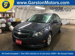 Used 2014 Chevrolet Cruze LT*TURBO*PHONE CONNECT*KEYLESS ENTRY*POWER WINDOWS/LOCKS/MIRRORS*CLIMATE CONTROL* for sale in Cambridge, ON