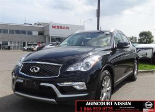 Used 2017 Infiniti QX50 Wagon |AWD|Leather Seats|Non Rental| for sale in Scarborough, ON