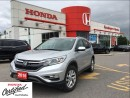 Used 2016 Honda CR-V Touring, former Honda Canada demo for sale in Scarborough, ON