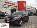 Used 2014 Honda CR-V EX-L, low mileage clean carproof for sale in Scarborough, ON