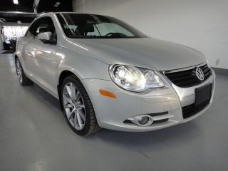 Used 2011 Volkswagen Eos FOLDING HARD TOP-HIGHLINE,NAVI,HEATED LEATHER for sale in North York, ON